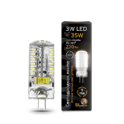 Лампа Gauss LED G4 12V 3W 2700K 1/20/200