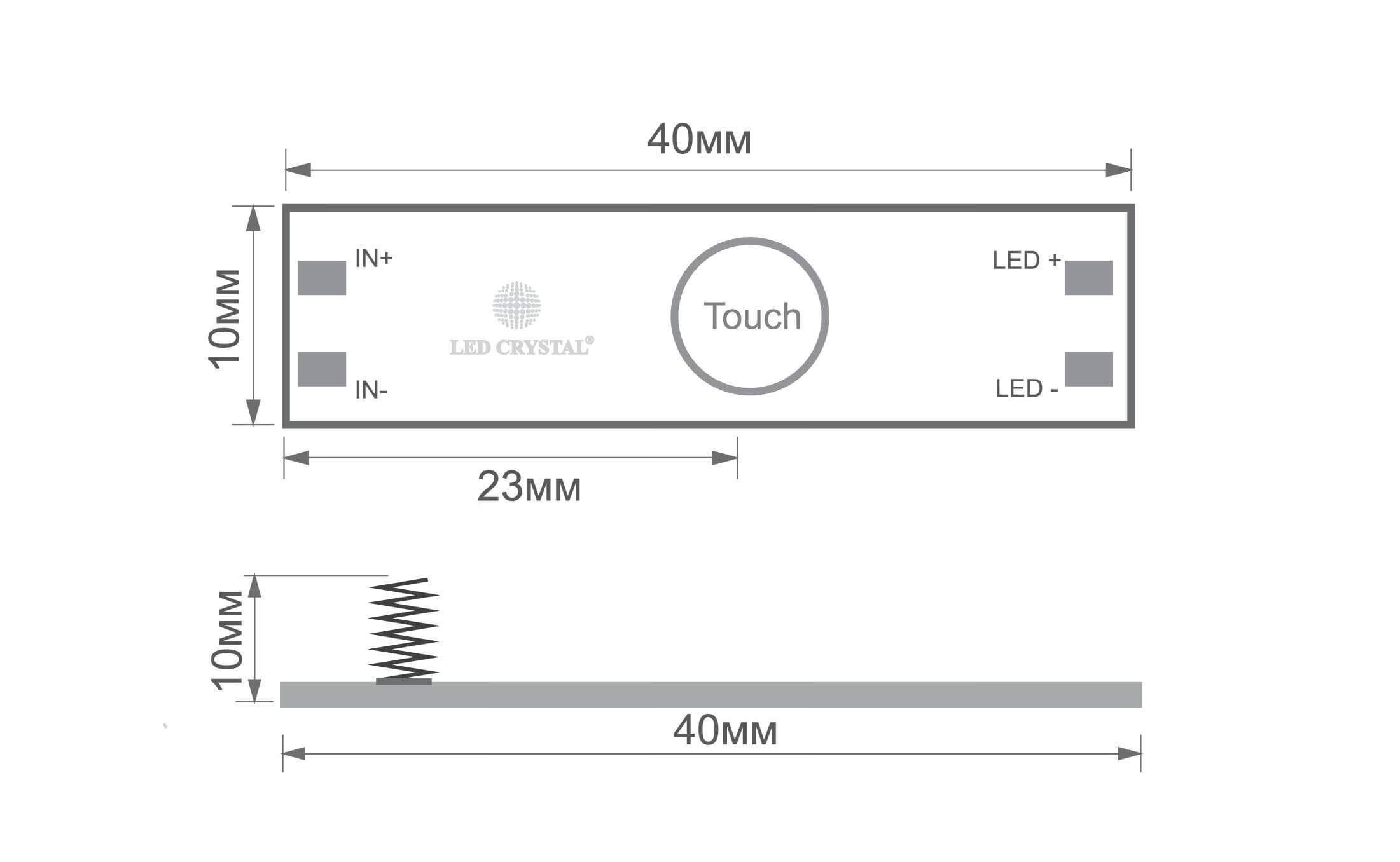 выключатель для светодиодной ленты купить