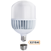 Ecola High Power LED Premium 100W 220V универс. E27/E40 (лампа) 6000K 280х160mm
