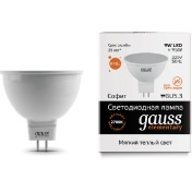 Лампа Gauss LED Elementary MR16 GU5.3 9W 2700K